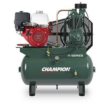 Two Stage, Oil Lubricated Reciprocating Compressors (9.1-22.5 HP)