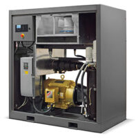 DRS50 Rotary Screw Compressor - Open View